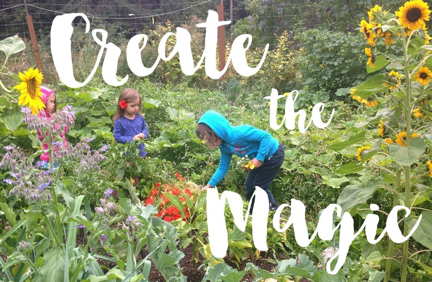 Great ideas and tips for creating a magical children's garden