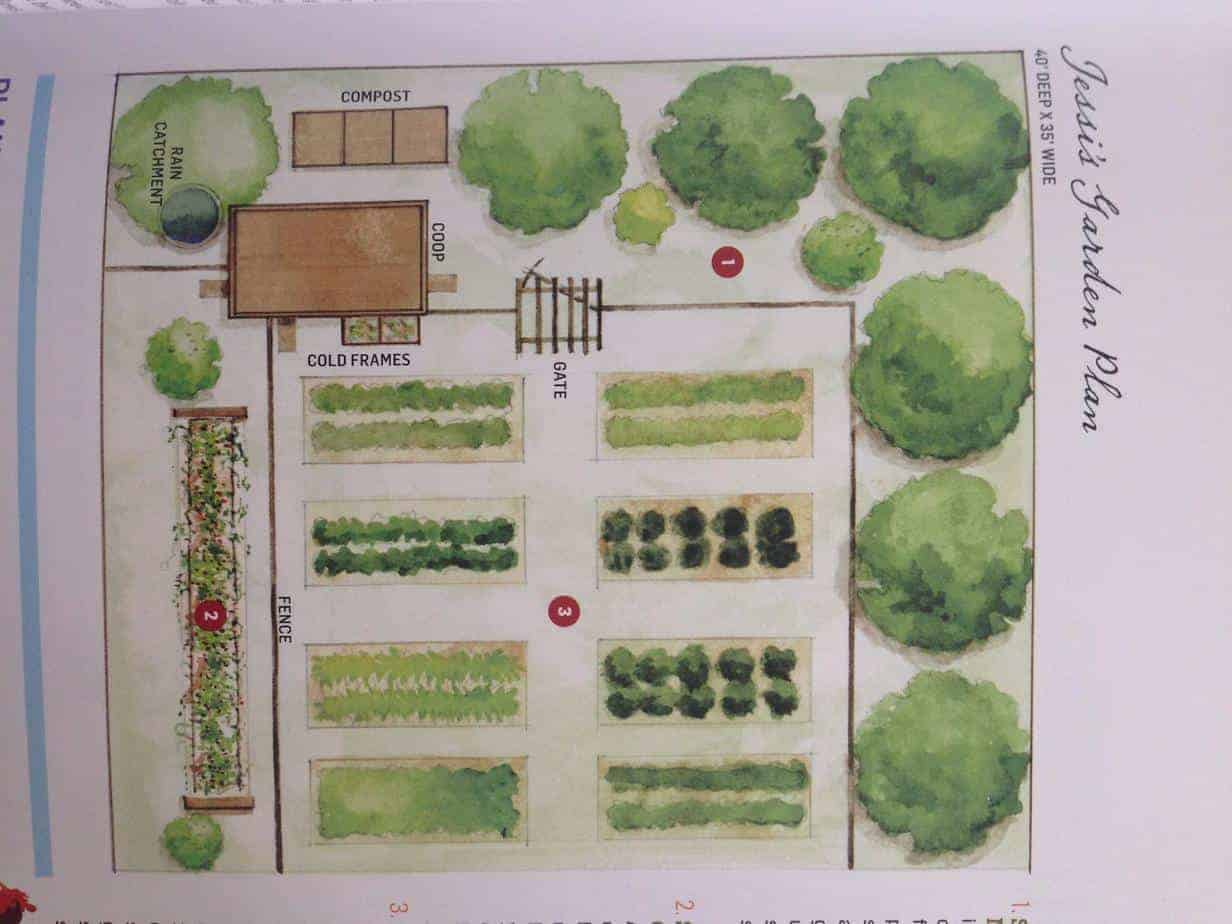 Chicken garden design family food garden for Garden design instagram
