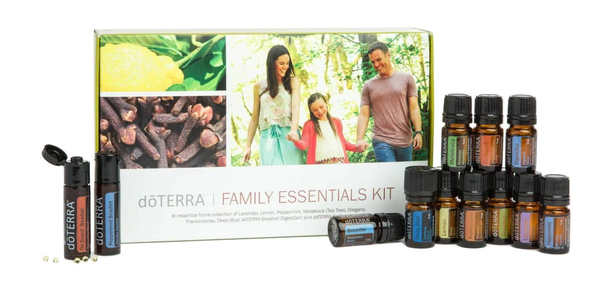 doTerra enrolment kits- family essentials kit