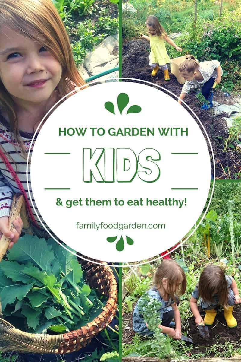 Kids gardening 101 activities for them to do while you for Gardening with children