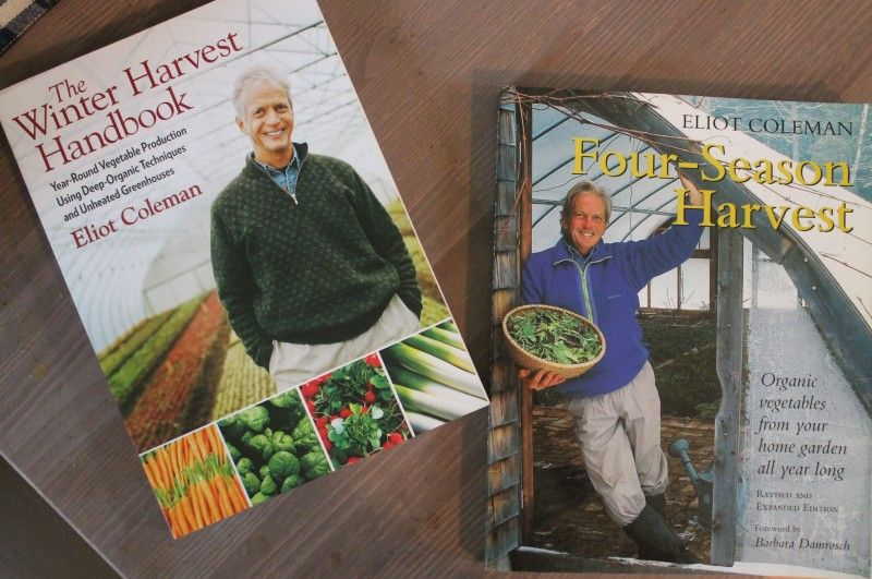 Eliot Coleman has fantastic books for year-round growing