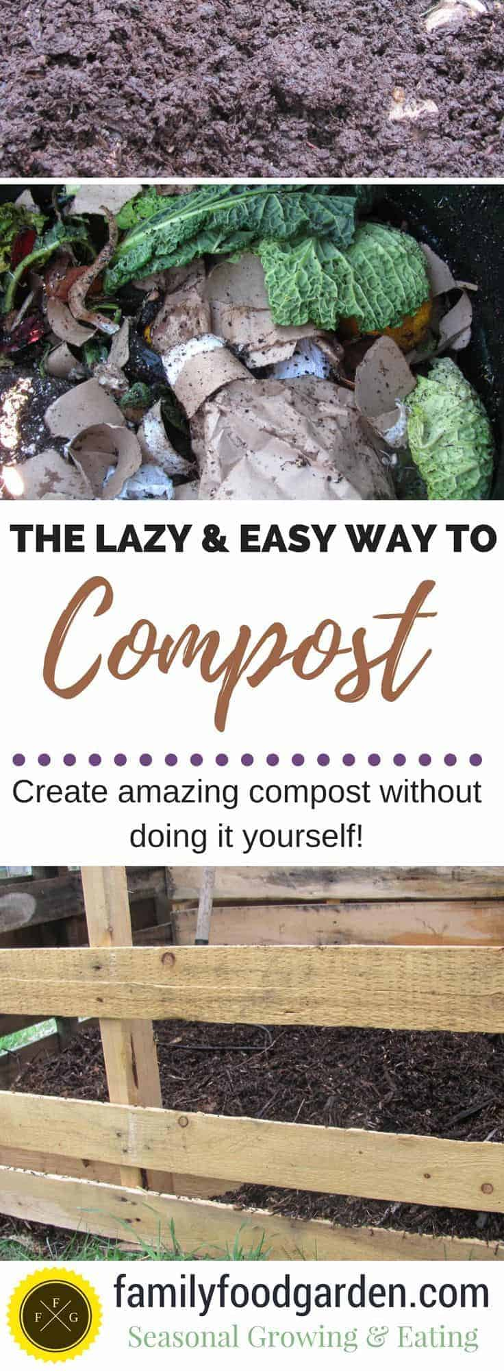 Do you suck at composting? Learn how to make amazing compost without doing it yourself!
