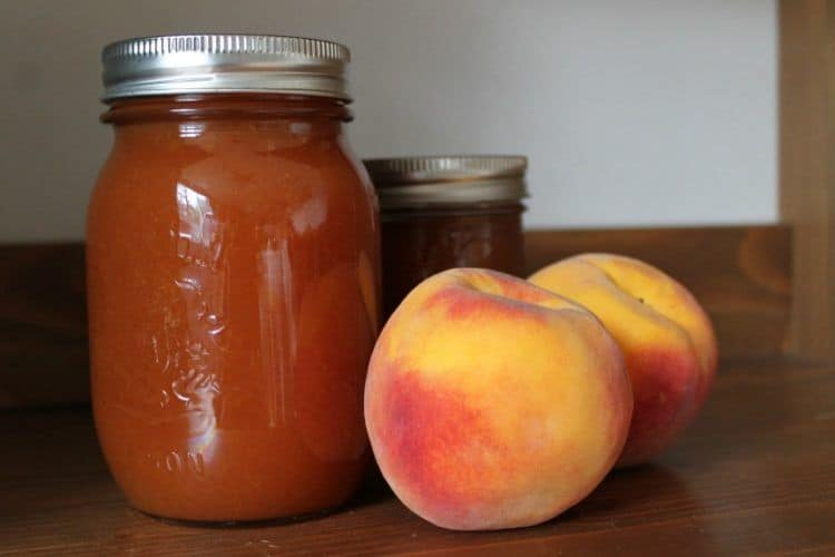 Pumpkin Spiced Peach Sauce {+ Mega Canning Giveaway}