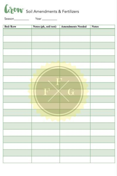 Ultimate printable garden planner for Garden planner 3