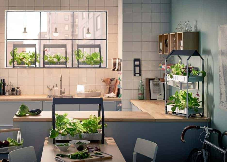 Ikea sustainable indoor hydroponic gardening