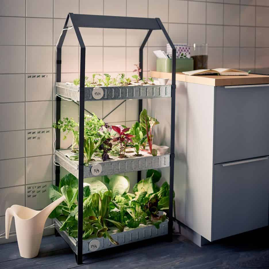 Sustainable indoor gardening from ikea