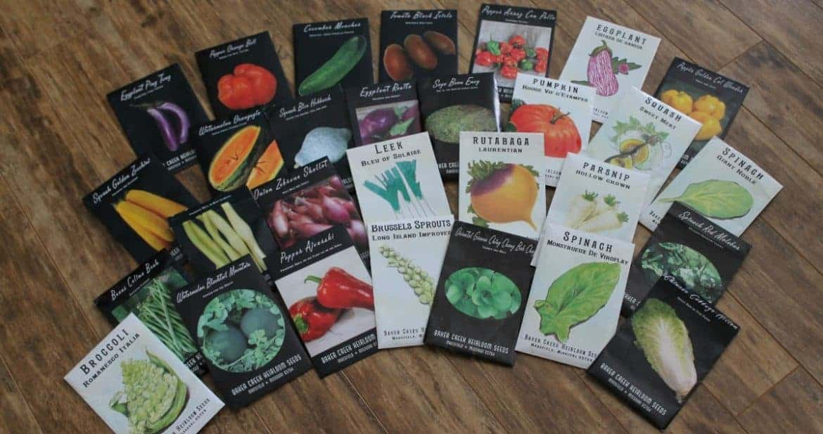 {giveaway} baker creek seeds heirloom collection