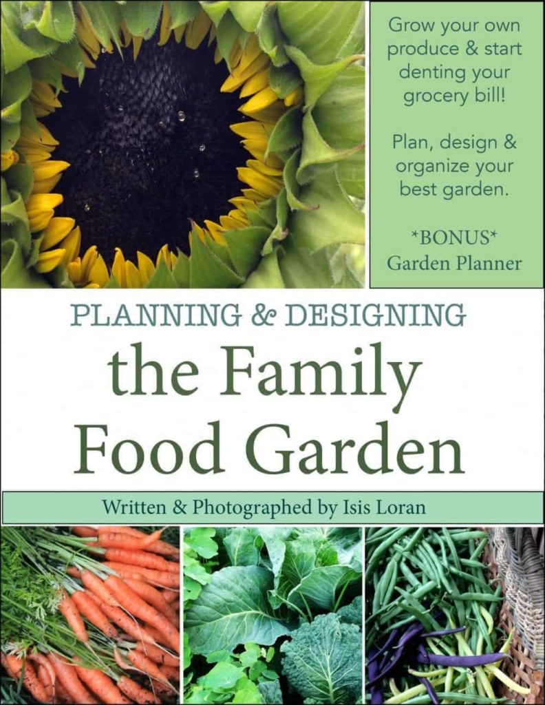 Food Book Cover Design ~ The family food garden book