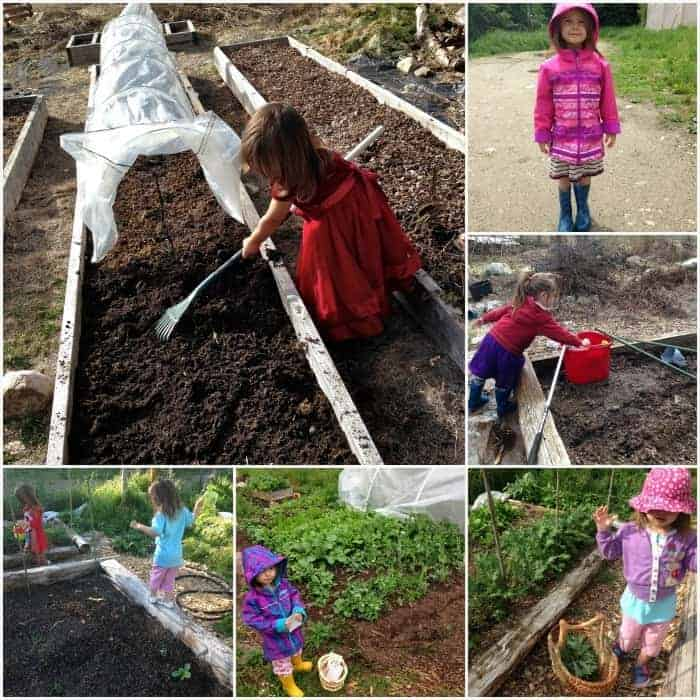 Gardening with Kids- lots of activities to keep little hands busy!