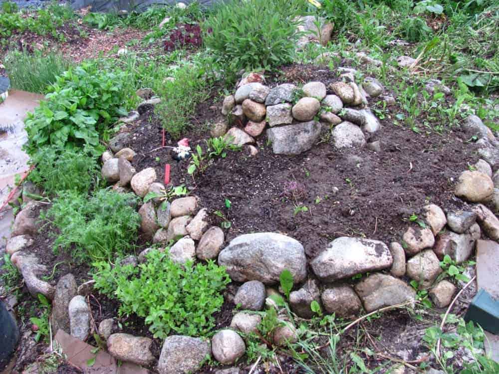 How to build a herb spiral family food garden for How to landscape a garden