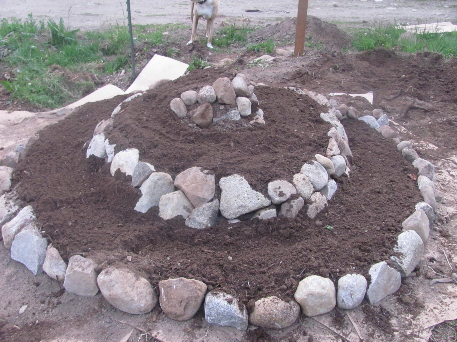 How To Build A Herb Spiral Permaculture