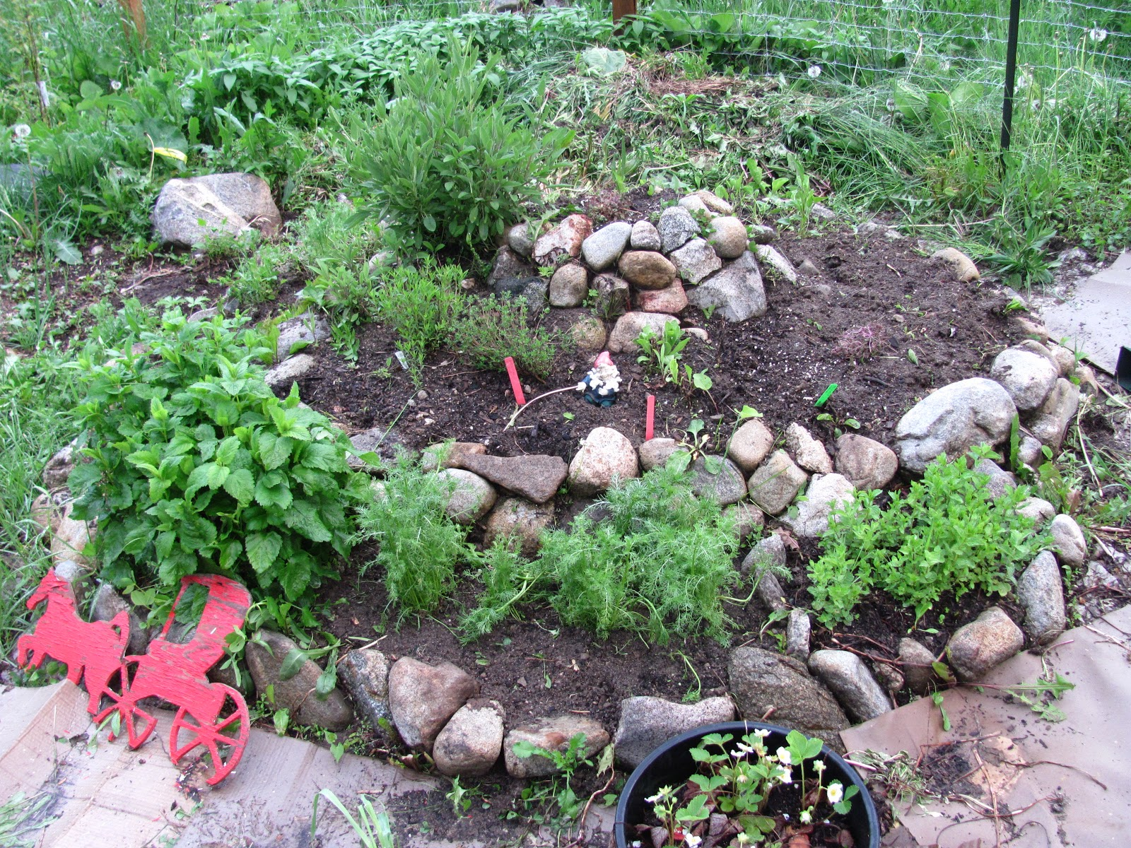 How to build a herb spiral family food garden for How to create a garden