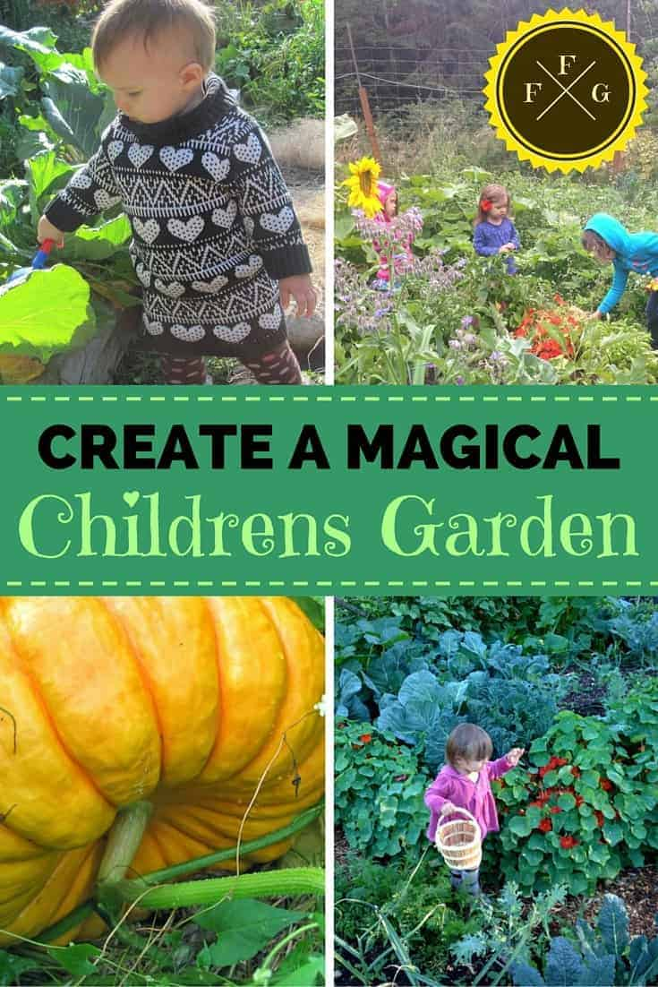 creating a magical children u0027s garden