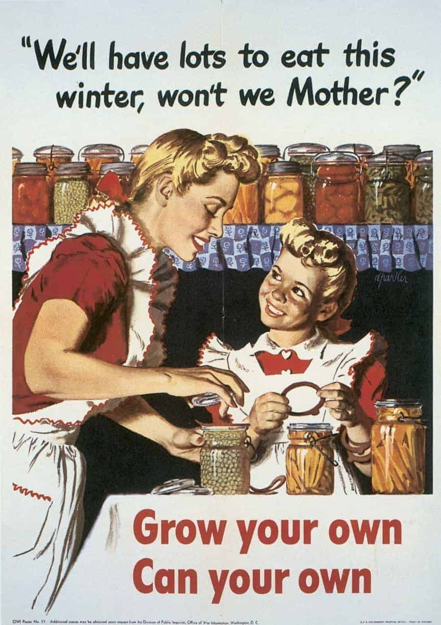 WWII-Victory-Grow-Preserve-Poste