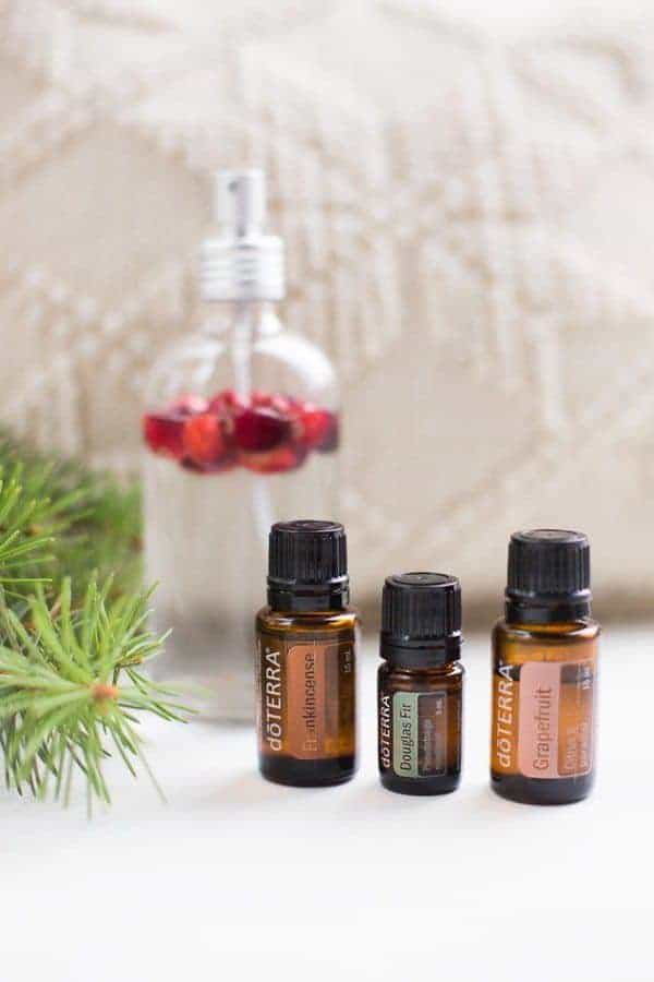 diy holiday room spray smells incredible it uses douglas fir frankinscence and grapefruit essential - Christmas Tree Smell