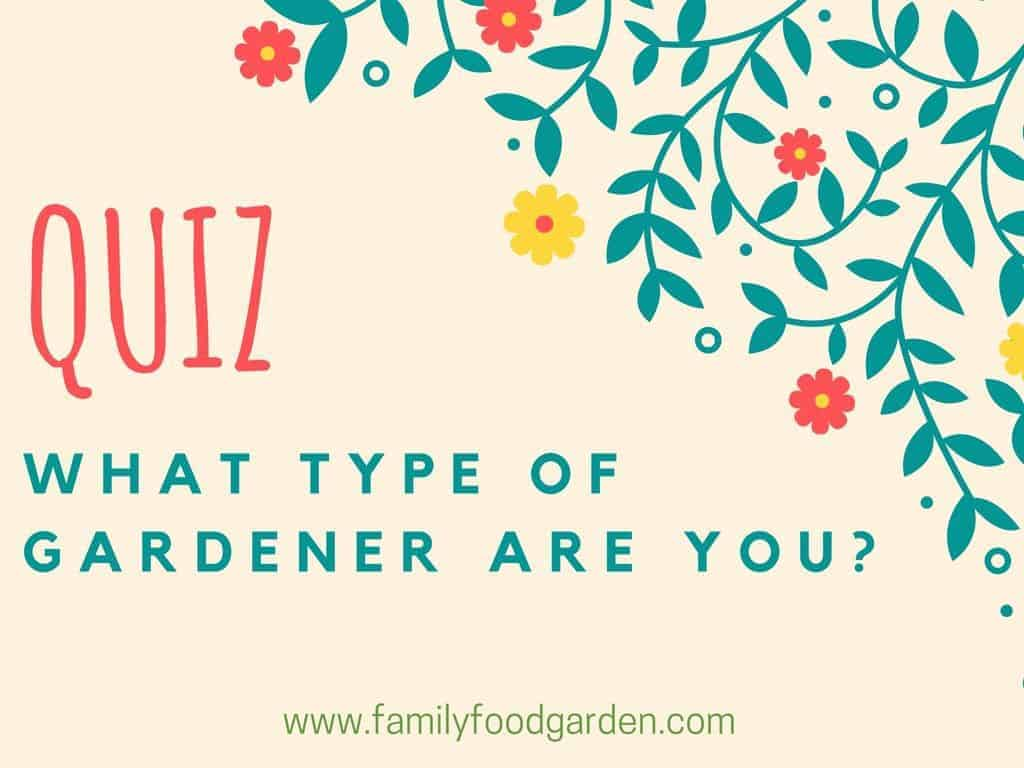 Take this fun quiz to find out what type of gardener you are!