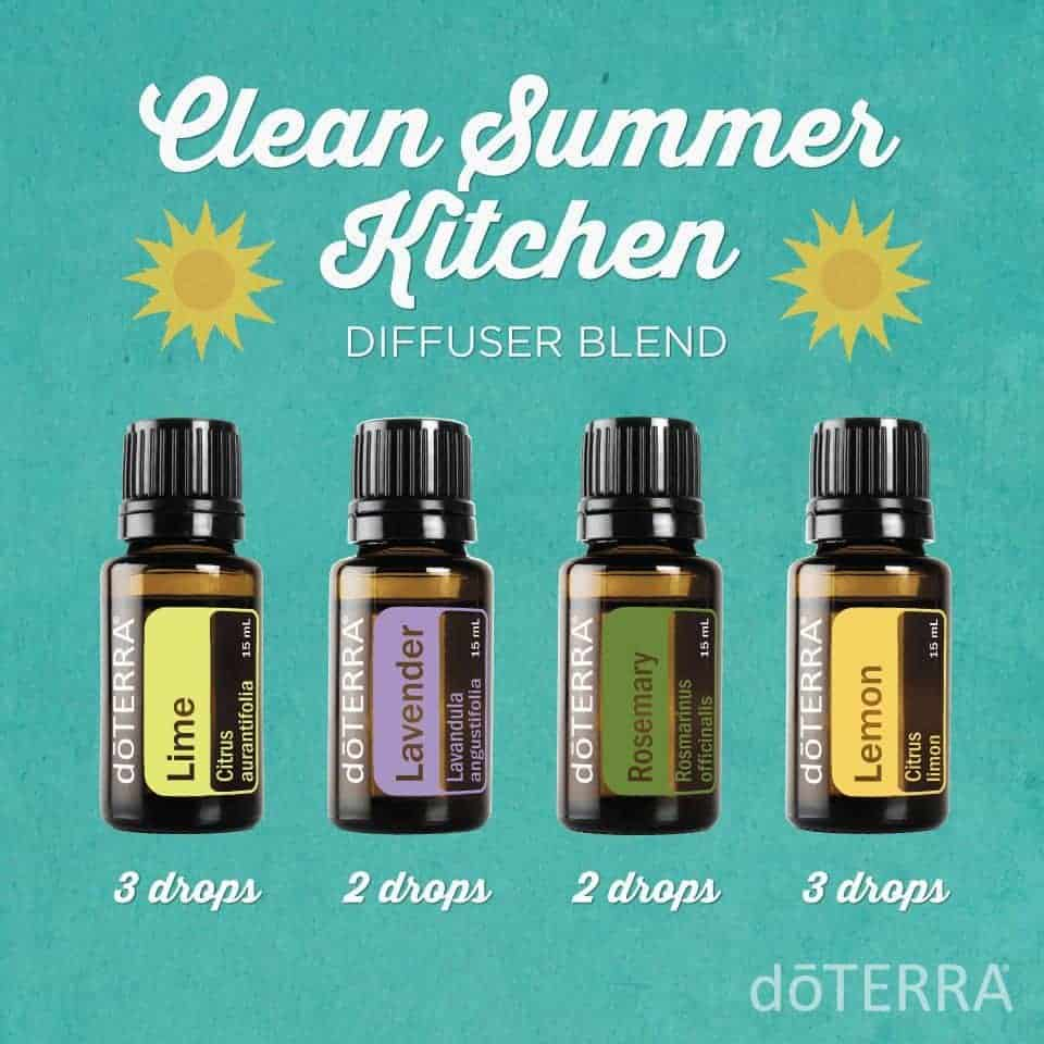 doTerra essential oil diffuser blends.