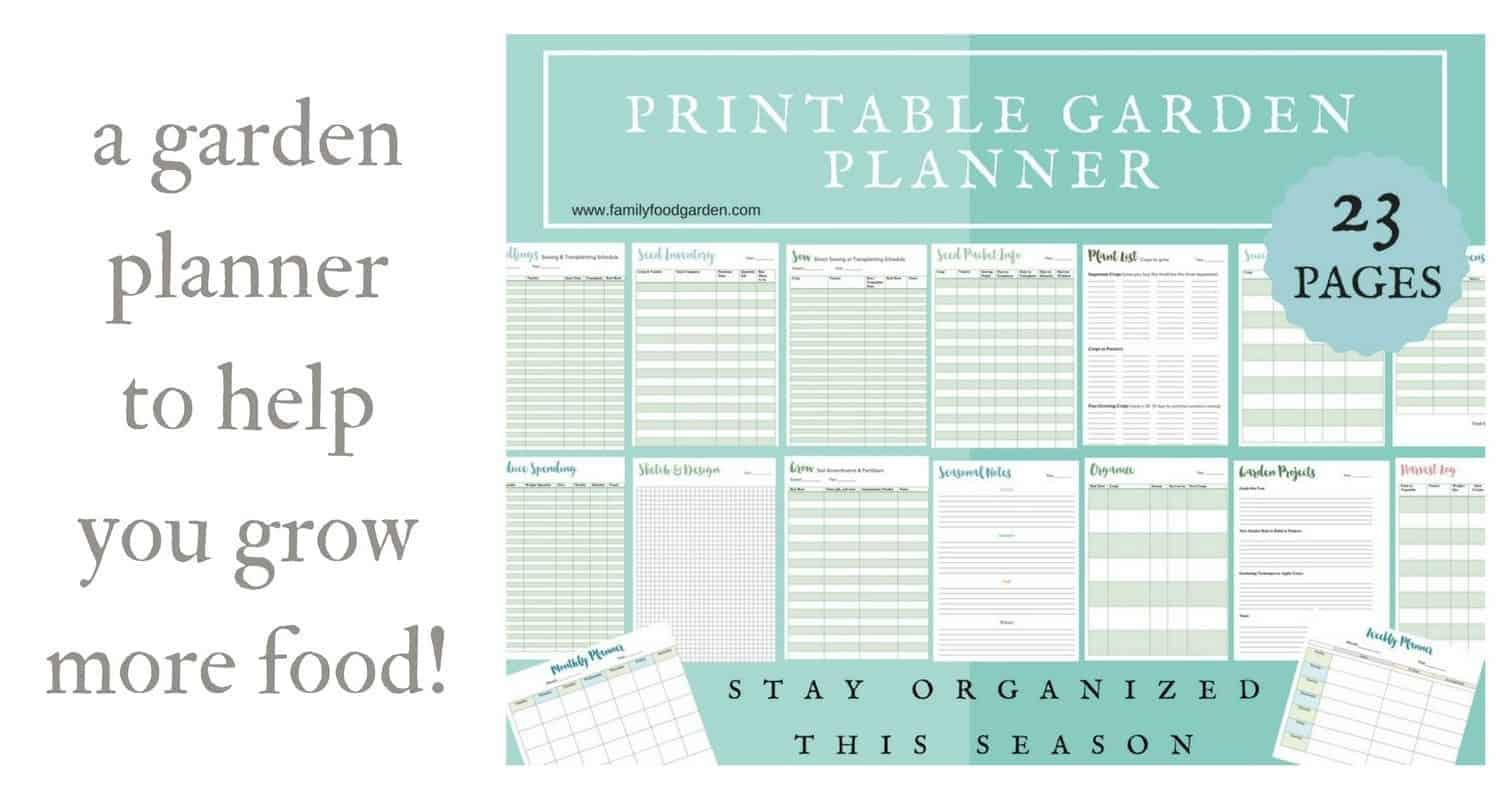 A garden planner to help you grow more food family food for Vegetable garden planner