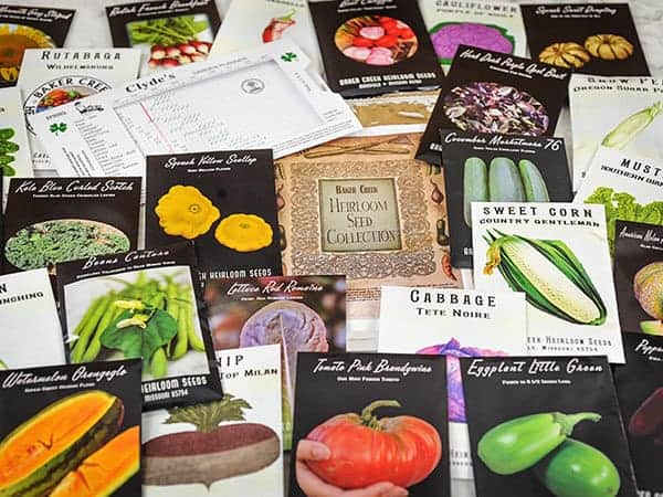 Giveaway Baker Creek Seeds Heirloom Collection Family