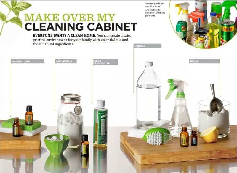 Natural Cleaning Recipes Using Essential Oils Family