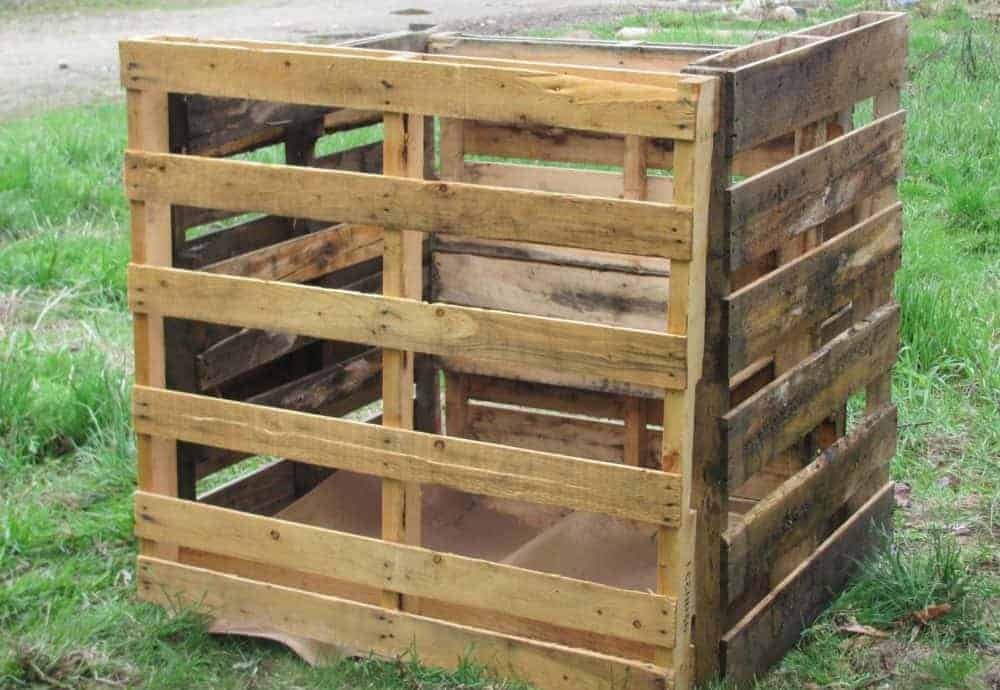Grow Potatoes in a DIY Wooden Pallet Container