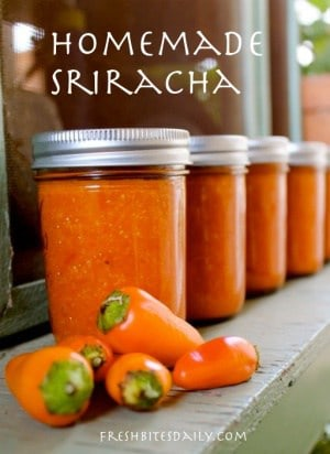 Canning hot sauce recipe