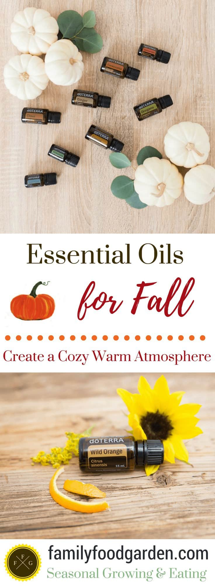 Fall Essential Oil Diffuser Blends