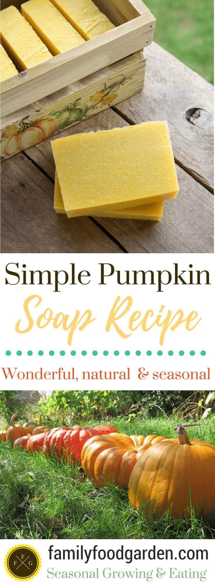 Simple Pumpkin Soap Recipe