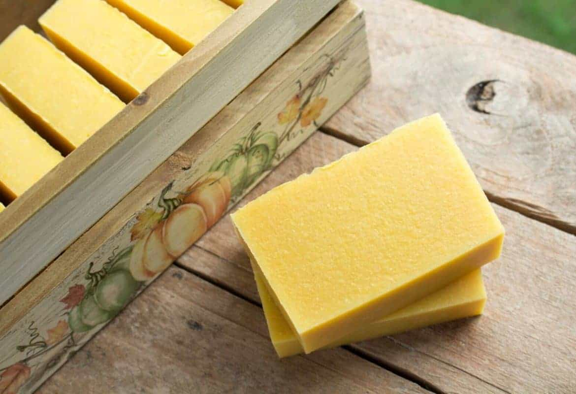Simple Handmade Pumpkin Soap Recipe