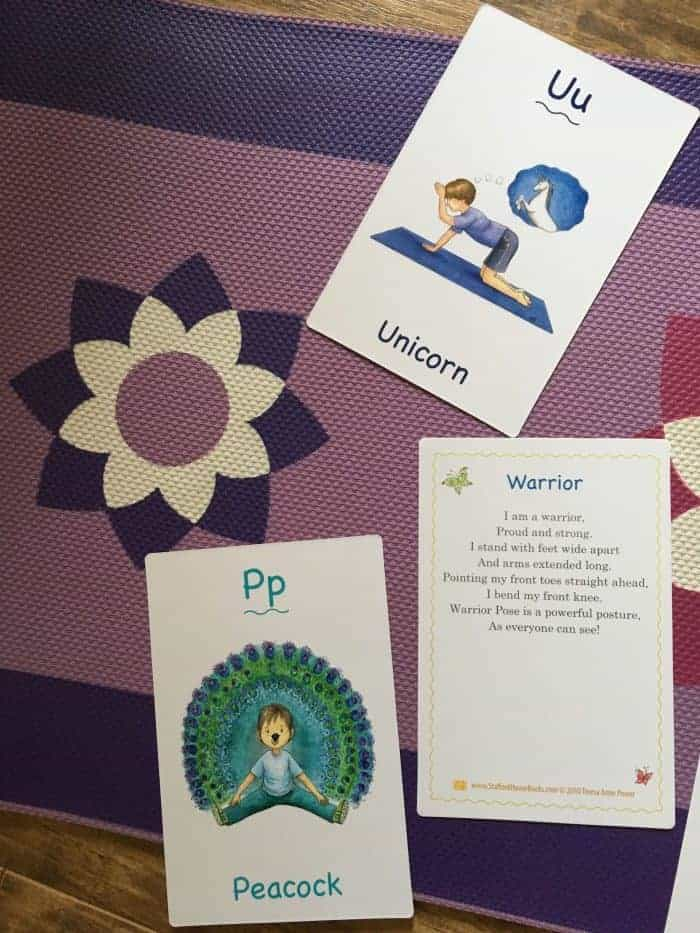 ABC's of Yoga Kids Cards