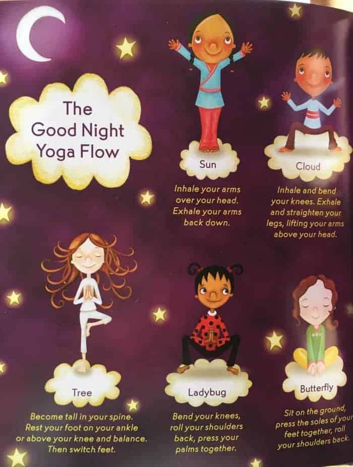 Good Night Yoga Flow for Kids Yoga