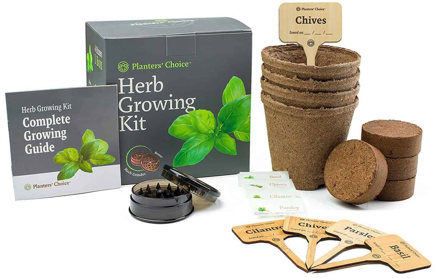 Plant Herbs with a Herb Garden Kit (a Great Gardener Gift!)