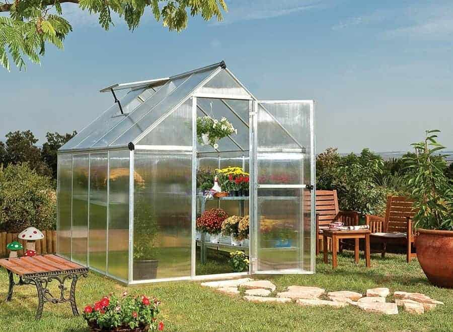 greenhouse kits mini small diy greenhouses family food