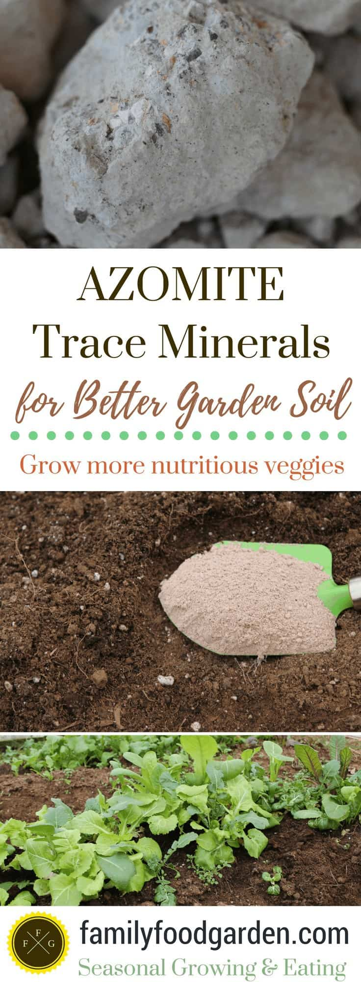 AZOMITE Trace minerals for your garden