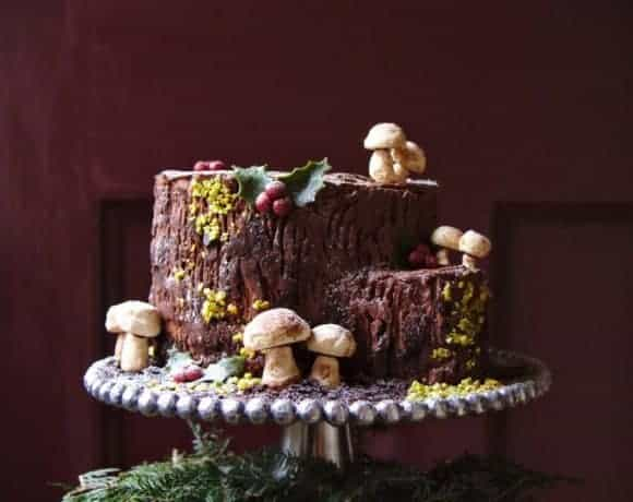 Buche de Noel stump variation