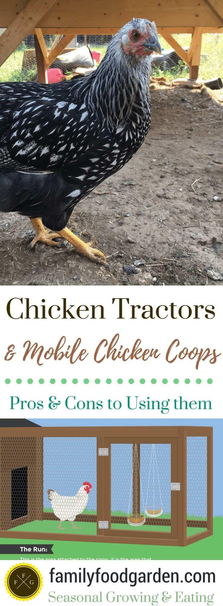 Chicken Tractors & Mobile Chicken Coops