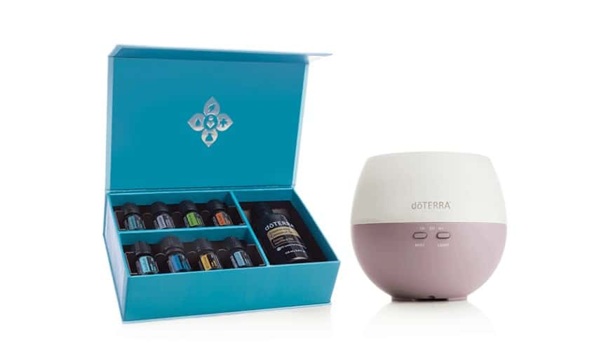 doTERRA diffuser options and starter kits