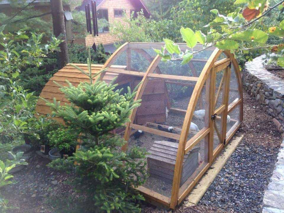 Hobbit Chicken Coop