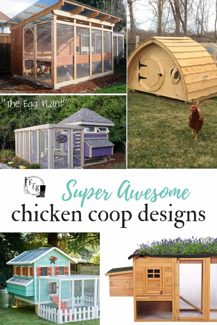 Great Chicken coop designs and plans #chickencoops #chickens #backyardchickens #chickenkeeping #chickencoopdesign