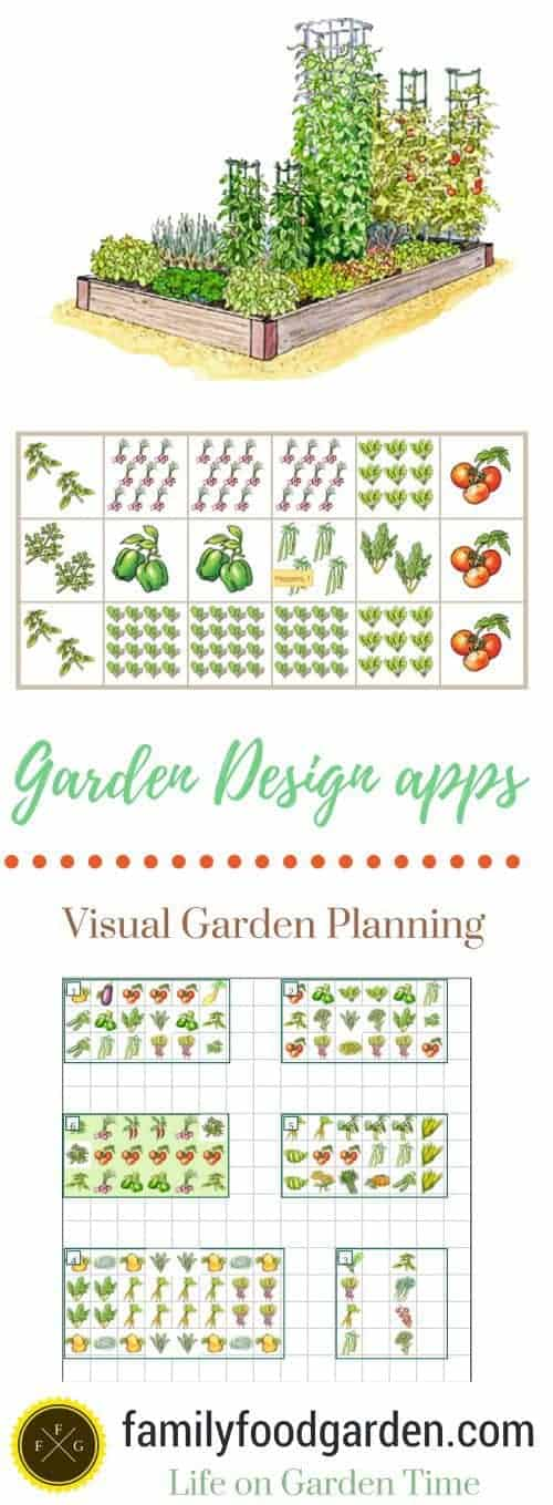 create garden plans with garden design apps family food garden. Black Bedroom Furniture Sets. Home Design Ideas