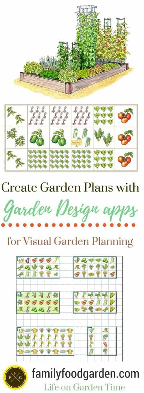 Create garden plans with garden design apps family food for Grow veg planner