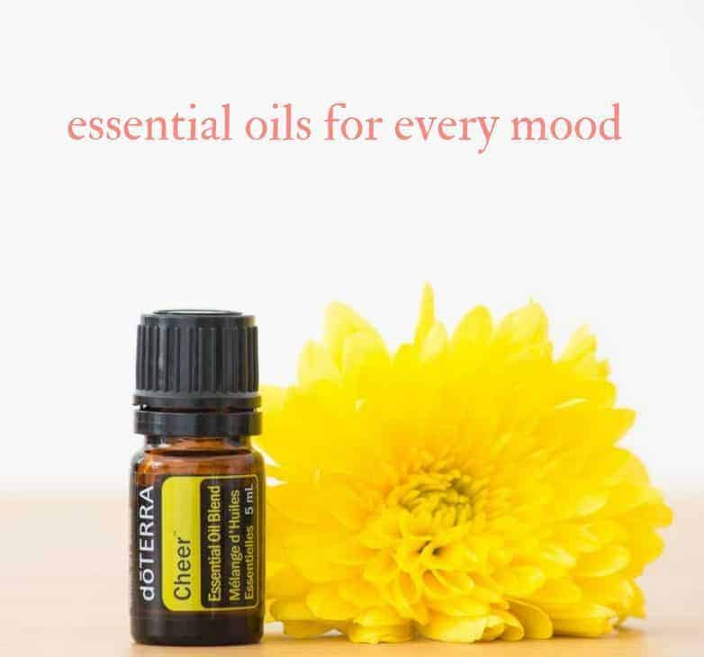 essential oils for mood therapy