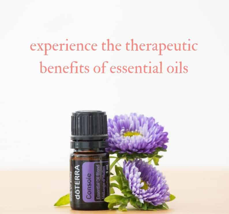 experience the therapeutic benefits of essential oils