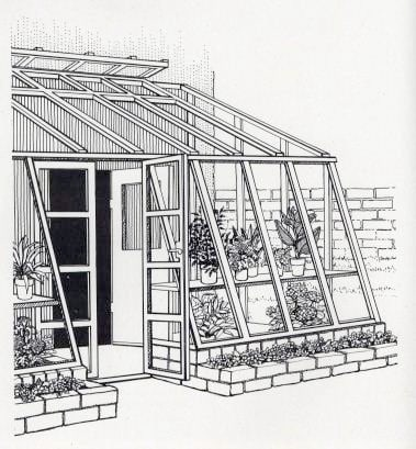 Lean to greenhouse plans so you can build your own