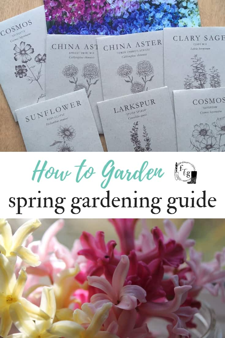 Big list of spring gardening tasks to start your garden #garden #springgardening #spring #garden #gardening #vegetablegardening