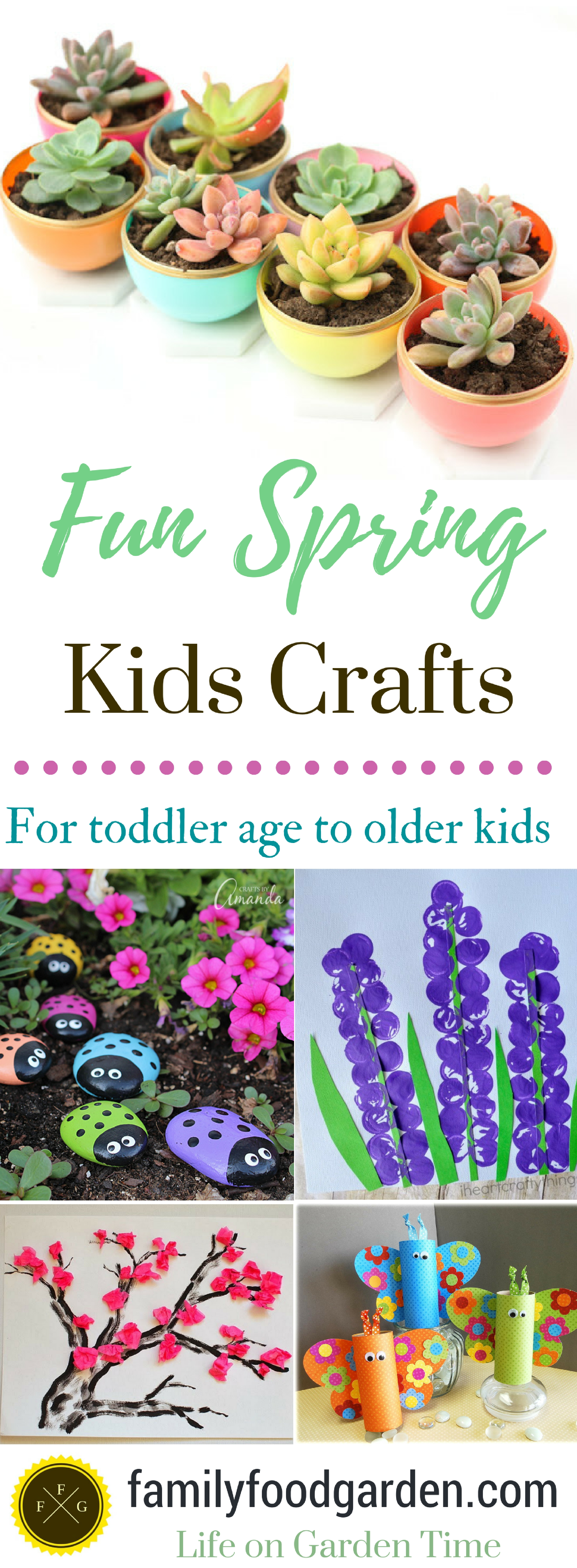 Spring Crafts For Kids Toddlers And Preschoolers Family Food Garden