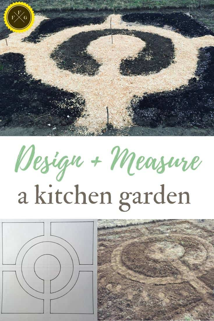 design and measure a new kitchen garden bed