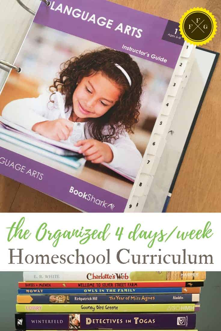 Bookshark Level 1 Homeschool Curriculum