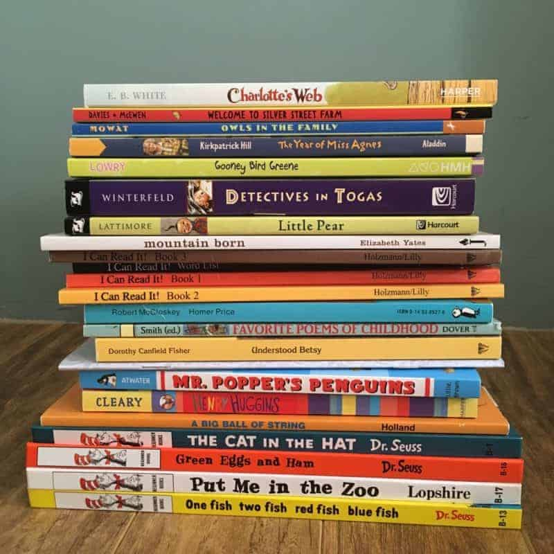 Literature based homeschooling