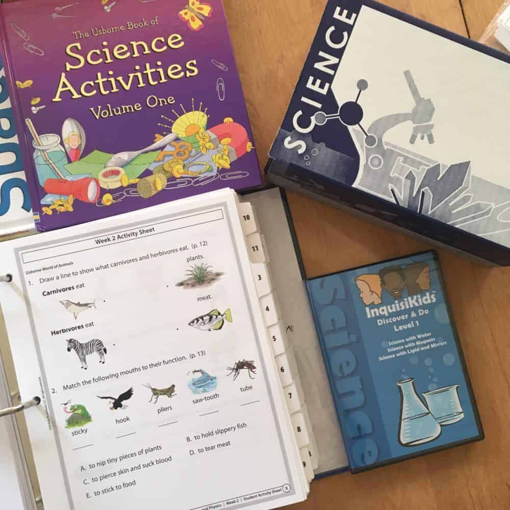 Bookshark Level 1 Science